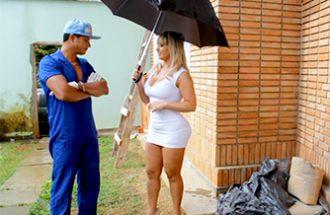 Angel Lima seduzindo pedreiro casado