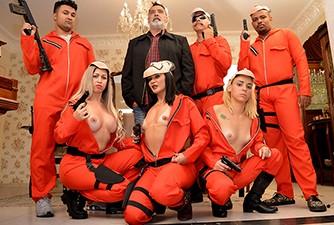 La Casa de Papel Paródia Pornô