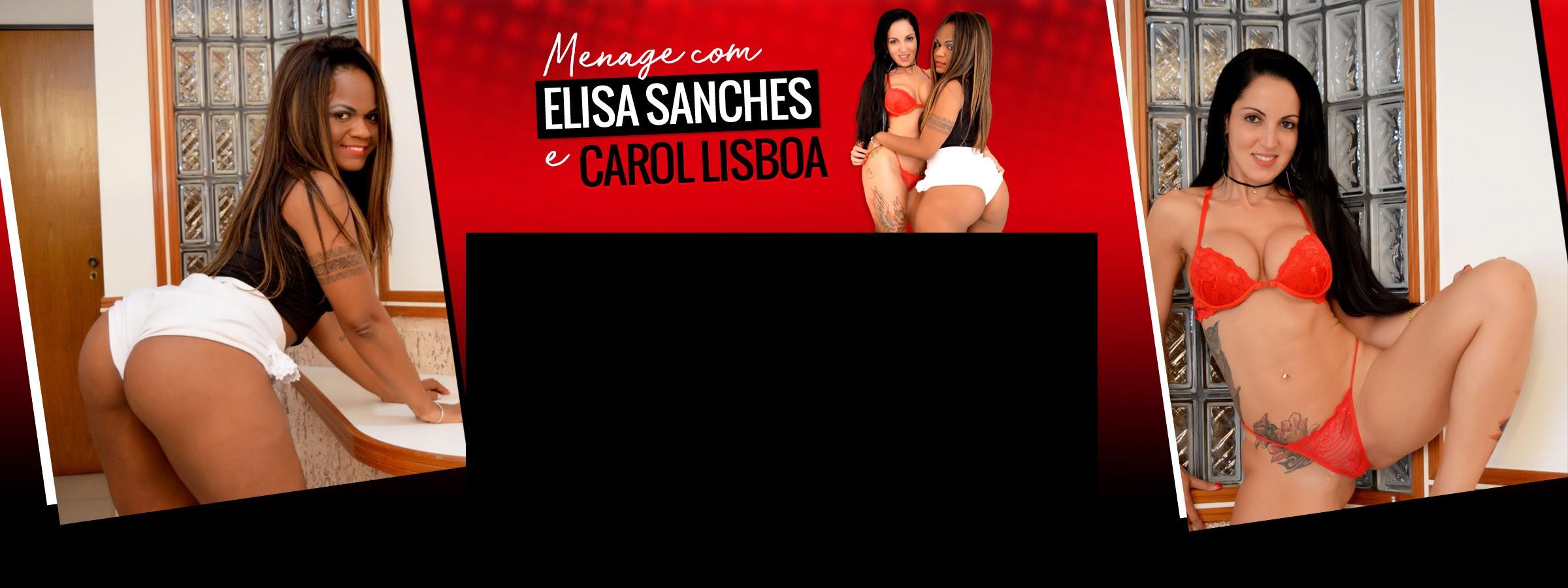 Menage com Elisa Sanches e Carol Lisboa