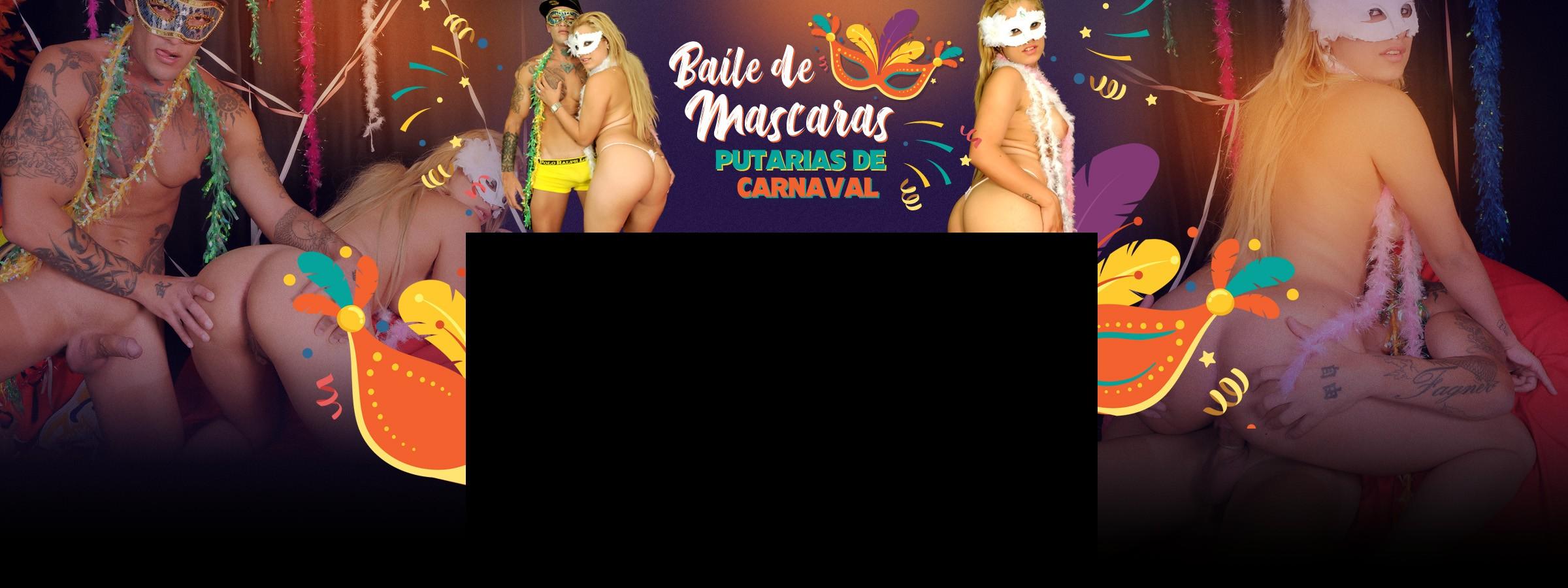 Sexo com loira Monique depois da folia de carnaval