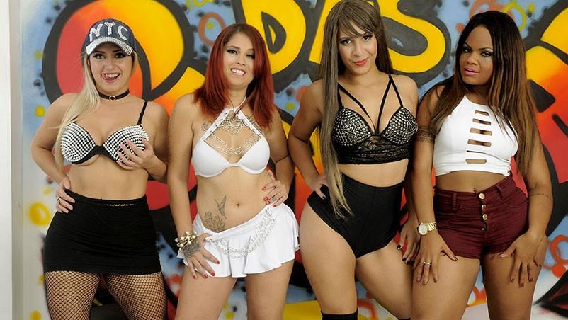 Orgia com as garotas popozudas do Funk Carioca