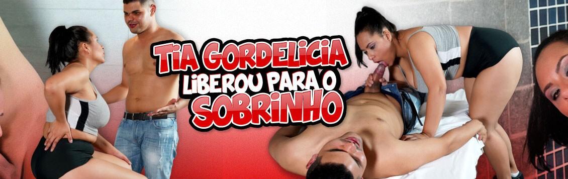 Sobrinho transou com sua Tia gordelicia Gabriela Ramos