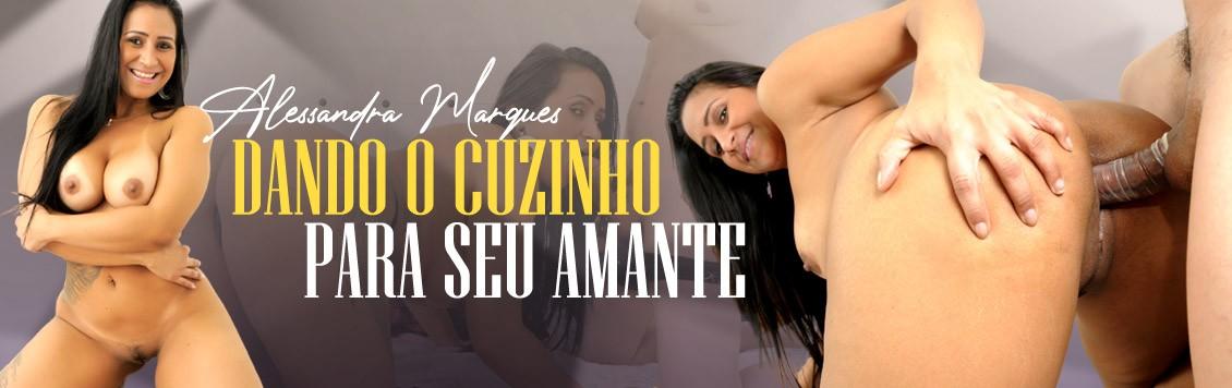 Alessandra Marques dando o cuzinho para seu amante