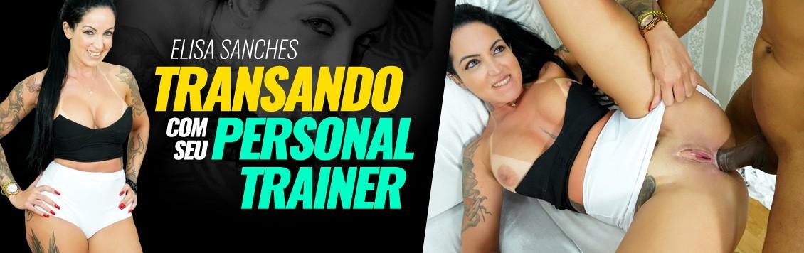 Elisa transou com seu personal trainer