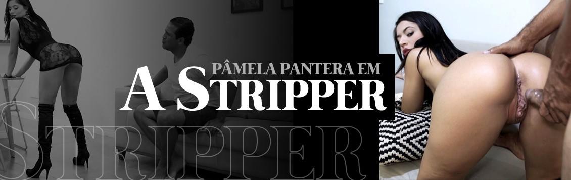Stripper gostosa fudendo com seu cliente casado