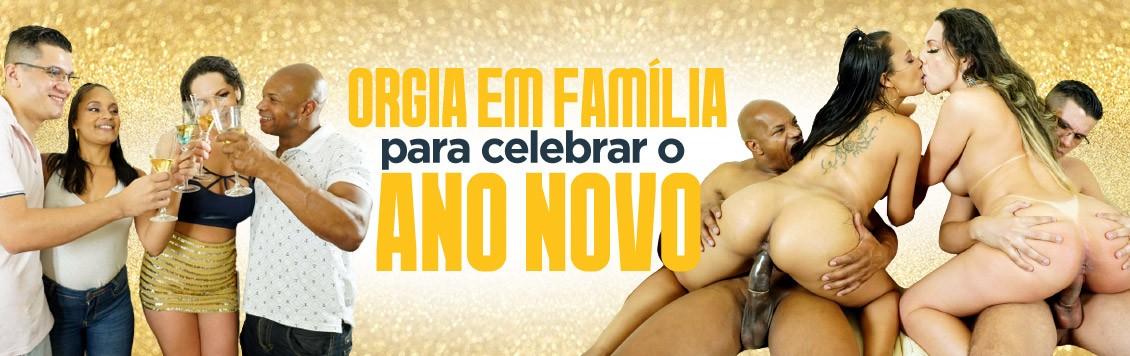 Orgia em família para celebrar o ano novo