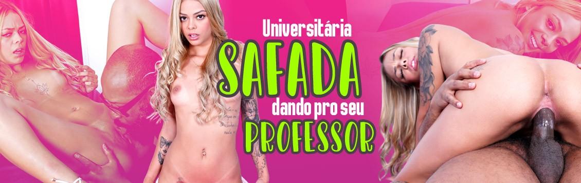 Universitária  safada dando pro seu professor particular