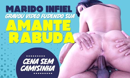 Marido infiel gravou vídeo comendo sua amante rabuda